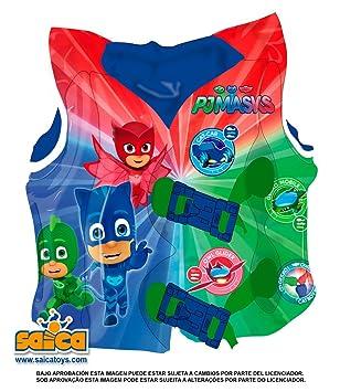 Chaleco hinchable PJ Masks: Amazon.es: Juguetes y juegos