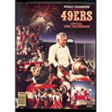 1985 World Champion San Francisco 49ers Official Yearbook Football Program Year Book Magazine NFL