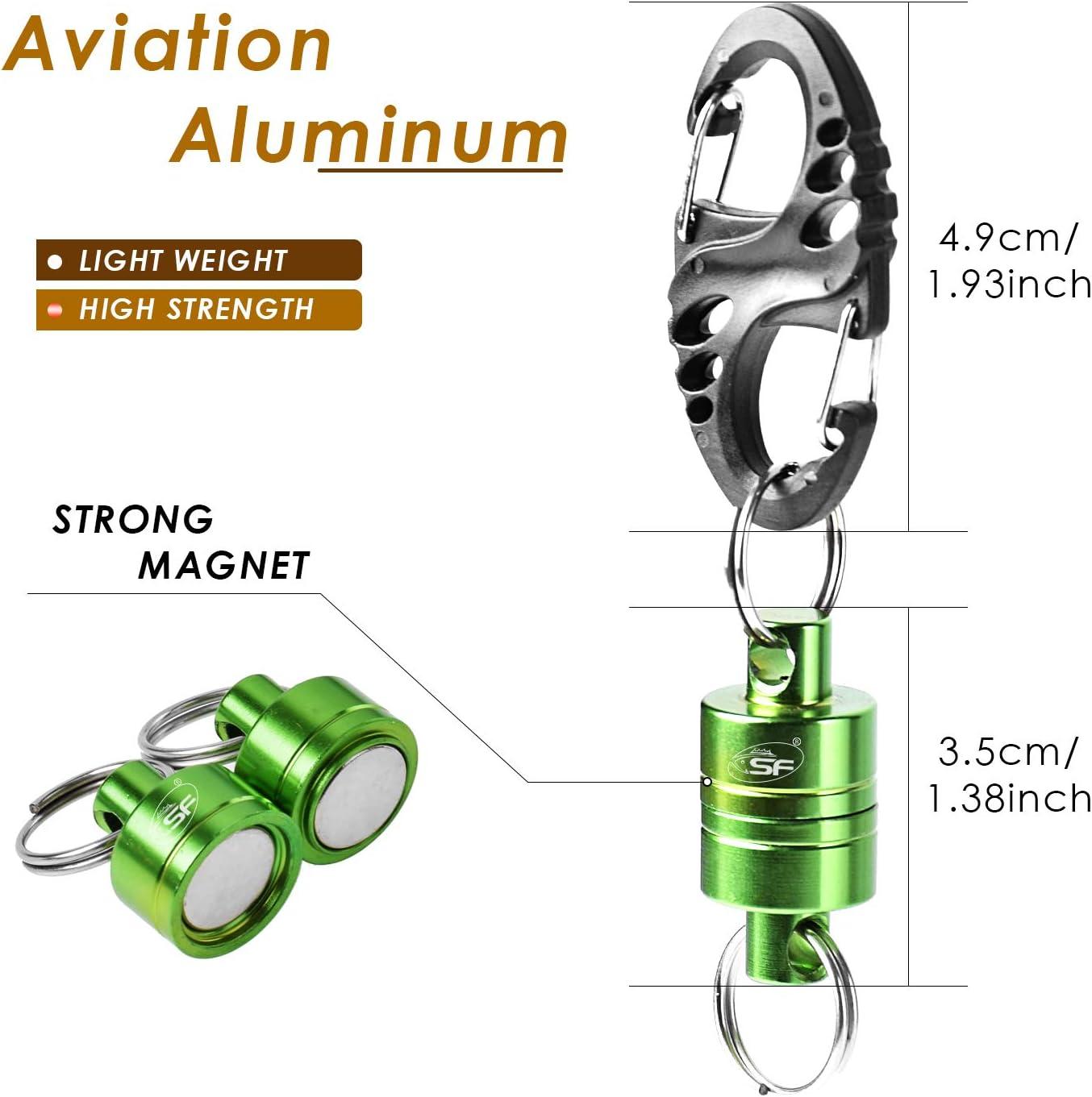 SF Supporto Magnetico con Clip a sgancio rapido per Rete Magnetica con Cavo da 12 libbre
