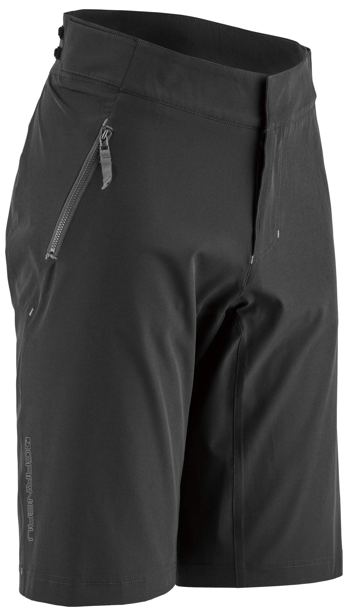 Louis Garneau Men's Leeway Bike Shorts, Black, Small