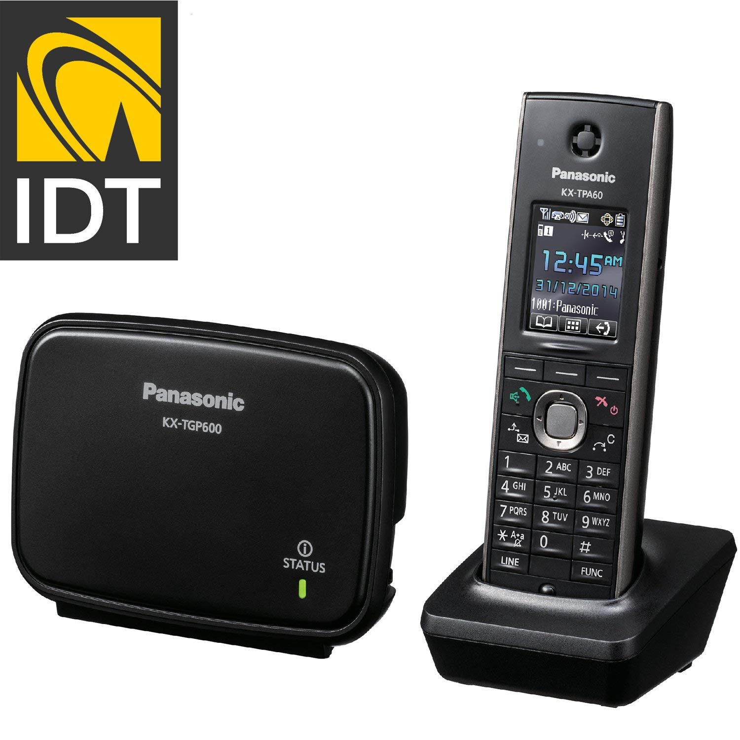 Panasonic KX-TGP600 SIP DECT Base Unit with KX-TPA60 Cordless Handset Business System Pre-programmed by IDT TELECOM by Panasonic (Image #2)