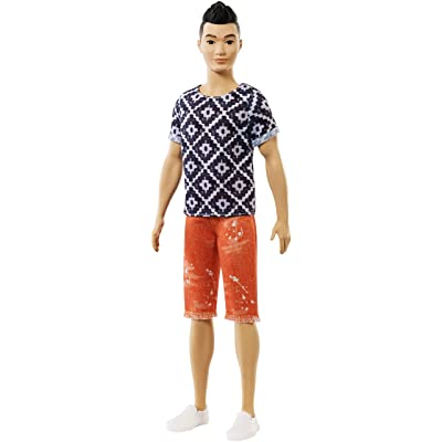 Barbie Ken Fashionistas Doll 115, Boho Hip: Toys & Games [5Bkhe0203793]
