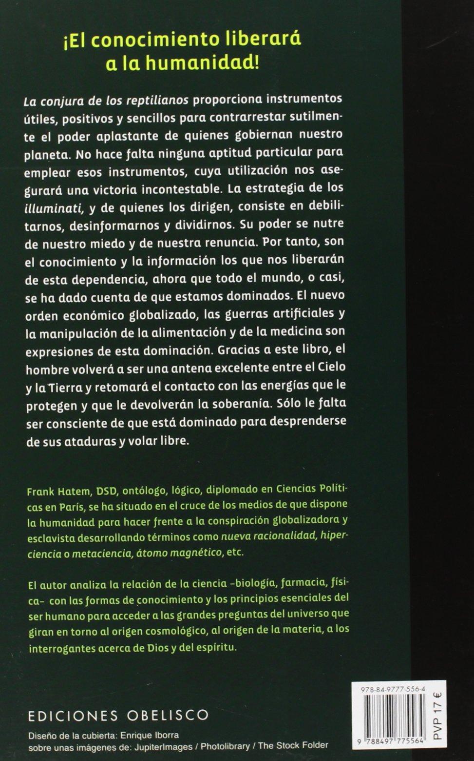 La conjura de los reptilianos (ESTUDIOS Y DOCUMENTOS): Amazon ...