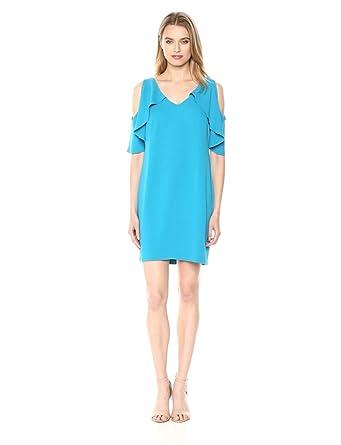 16ba5912 Trina Trina Turk Women's Kaidence Cold Shoulder Dress, bouganvilla, Small