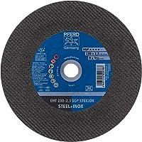 PFERD 522783 speciale lijn SGP Steelox doorslijpschijven, EHT, 2,3 mm x 230 mm x 22,23 mm, 25 stuks