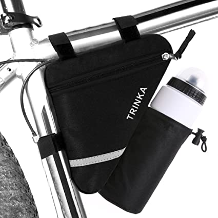 Bicycle Bag Splash-proof Reflective Bike Front Tube Frame Triangle Storage Pouch