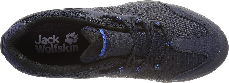 Jack Wolfskin Rock Hunter Texapore Low M Wasserdicht, Chaussures de Randonnée Basses Homme Bleu Night Blue 1010