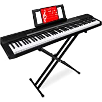 Best Choice Products 88-Key Full Size Digital Piano Electronic Keyboard Set for All Experience Levels w/Semi-Weighted…