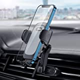 TiTpKing Car Phone Holder Mount, Double Air Vent Clamps Phone Car Holder Sturdy Stable Cell Phone Holder for Car…