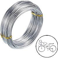 3mm Alambre de Aluminio Manualidades para Joyeria Fabricacion