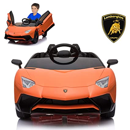 Electric Ride On Car with Remote Control for Kids
