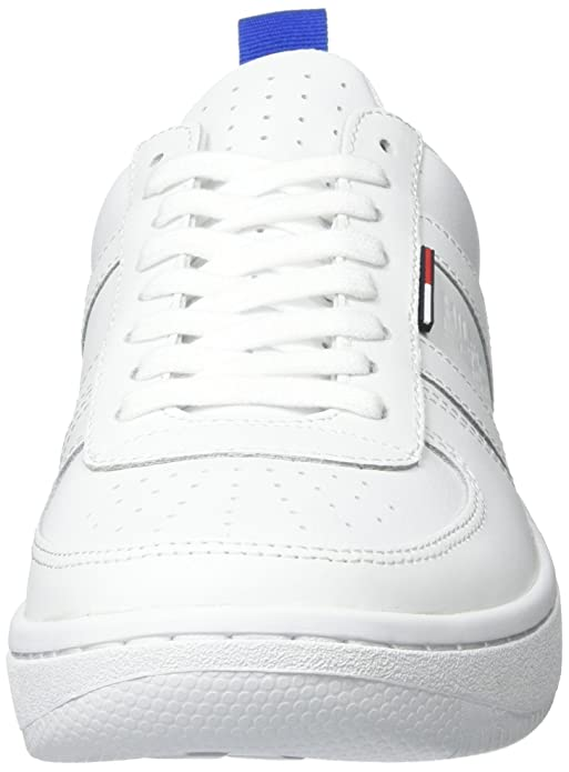 Mens J2385ump 5a Low-Top Sneakers, White Tommy Hilfiger