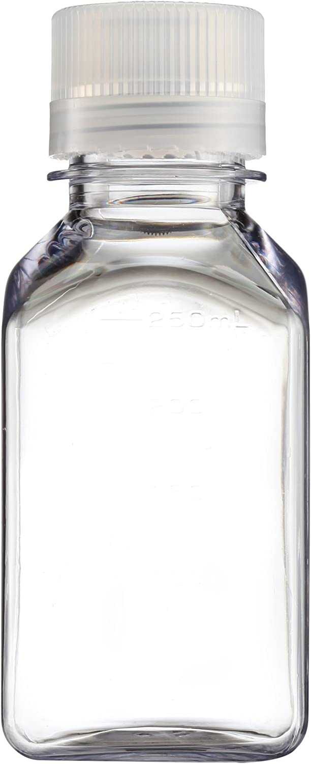 Nalgene Transparent Lexan Square Storage Bottle