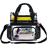 Clear Tote Lunch Bag Heavy-Duty - Totes Corssbody Purse Work Concert College Women