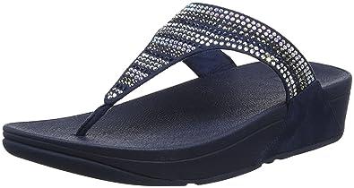 FitFlop Damen Ritzy Toe Thong Sandals Peeptoe