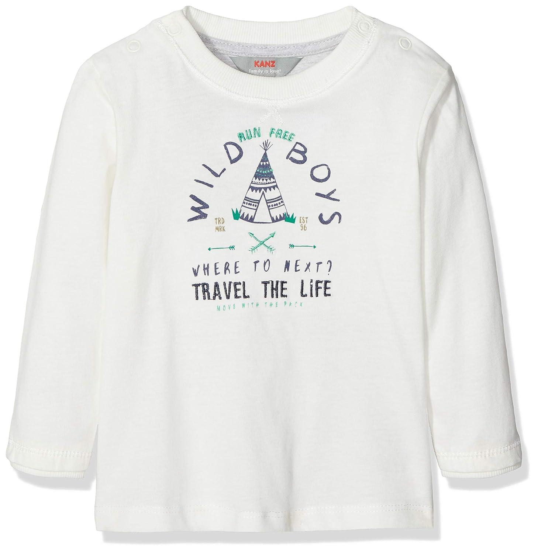 Jungen Langarmshirt T-Shirt 1//1 Arm Kanz Baby