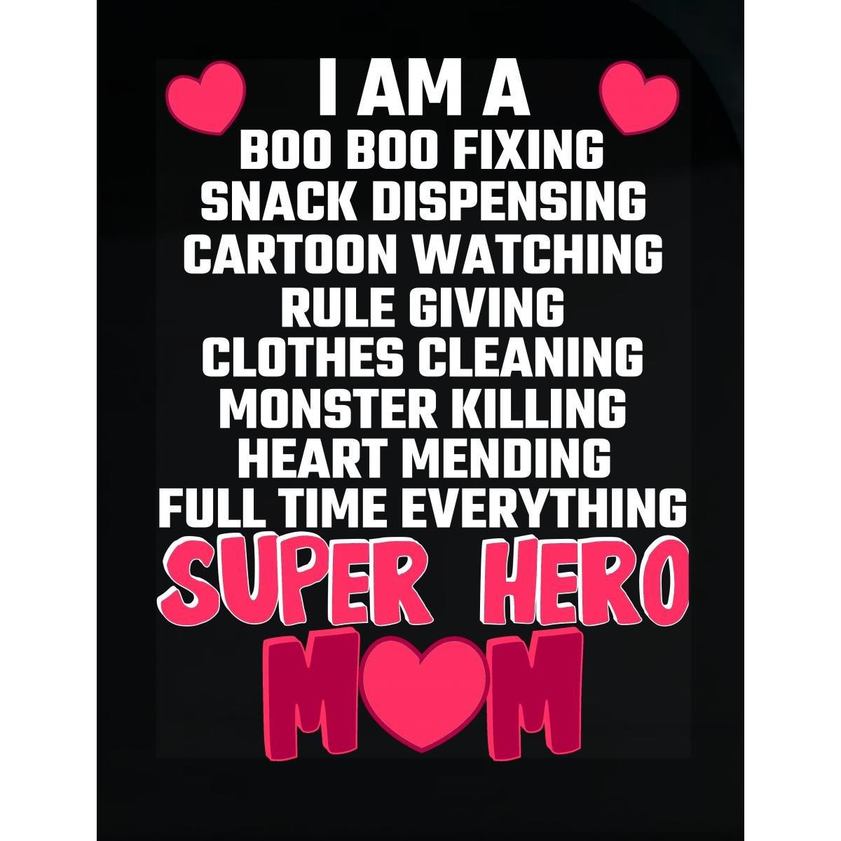 Amazon Com Tees Portals I Am A Super Hero Mom Baby Kids