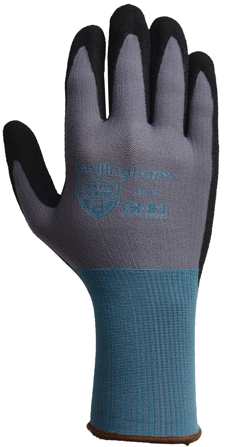 Small Small GardWare C3706S High-Dexterity Work Glove PCT Oil//Slip-Resistant Nitrile Coating and Breathable Palm