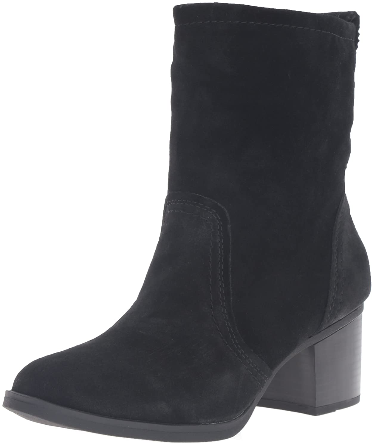 WHITE MOUNTAIN Women's Behari Ankle Bootie B01DSOX4BQ 7.5 B(M) US|Black