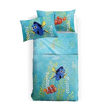 Parure Lenzuola Singole.Caleffi Disney Parure Lenzuola Singole Finding Dory Amazon