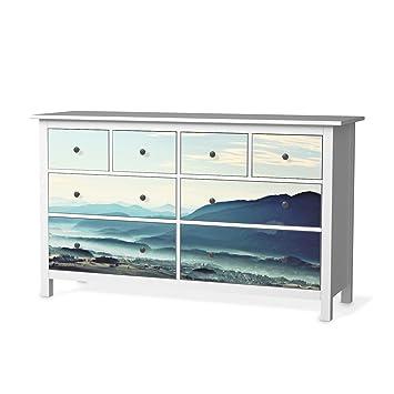 Möbeldekor Für IKEA Hemnes Kommode 8 Schubladen   Möbelgestaltung Bedruckte  Klebe Folie Möbel Folieren  
