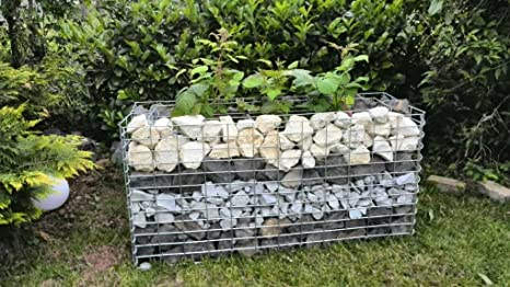 Pietre Da Giardino Per Aiuole : Aiuola rialzata dopo dimensioni lunghezza 80 cm qualità i gabbioni