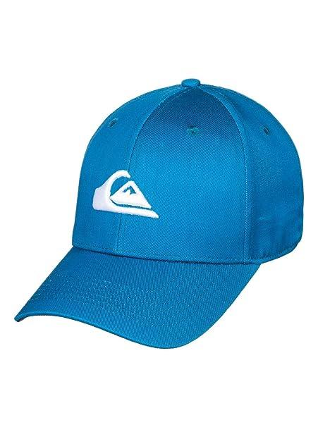 Quiksilver - Gorra con Ajuste Posterior a Presión - Hombre - One Size - Azul: Amazon.es: Ropa y accesorios