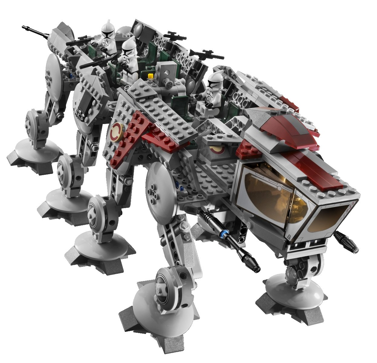 Amazon Lego Star Wars Republic Dropship With At Ot Walker