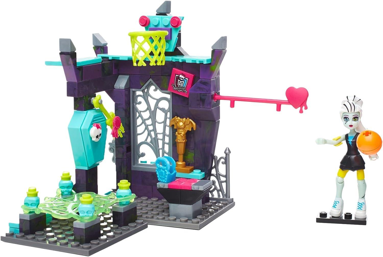 Mattel Mega Bloks DPK31 - Construx Monster High Physical Deaducation, Set de construcción
