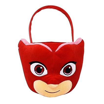 d33d1a1f0141a Amazon.com  PJ Masks Owlette Medium Plush Basket  Toys   Games
