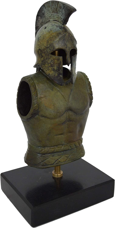 Antique Style Unique Piece Pure Bronze Item Armor Talos Artifacts Greek Spartan Corinthian Mini Helmet