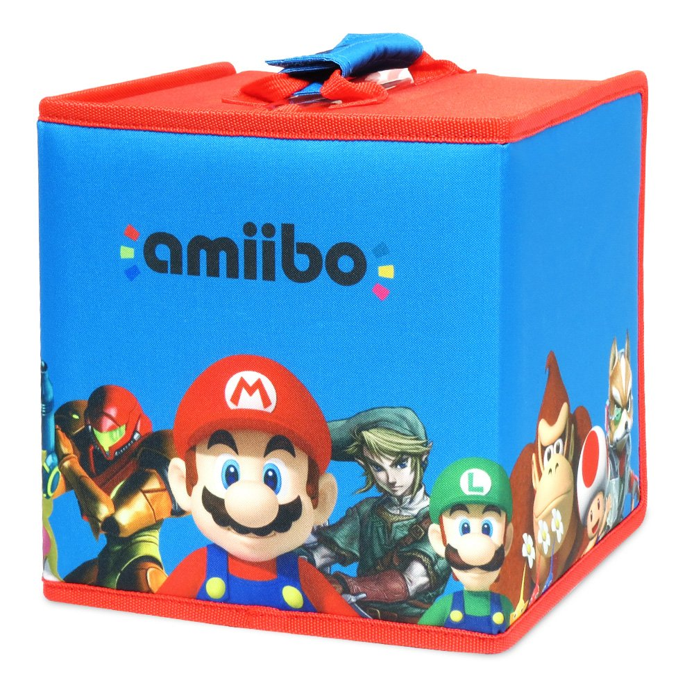 HORI amiibo 8 Figure Travel Case Mario and Friends