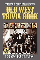 Old West Trivia Book Paperback