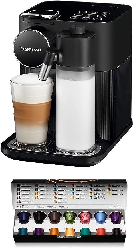 DeLonghi Nespresso Gran Lattissima EN650B - Cafetera monodosis de cápsulas (con depósito de leche compacto, 19 bares, 9 recetas, apagado automático) color negro: Amazon.es: Hogar