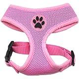 Soft Mesh Dog Harness Pet Walking Vest Puppy Padded Harnesses Adjustable