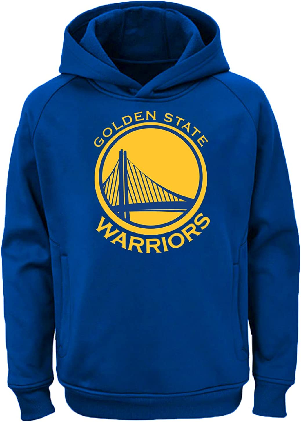 Outerstuff NBA Kids 4-7 Team Color Polyester Performance Primary Logo Pullover Sweatshirt Hoodie