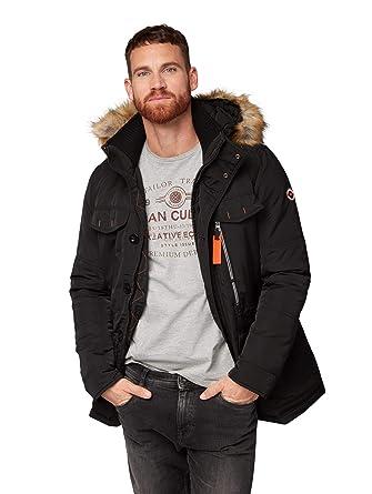 TOM TAILOR für Männer Jacken & Jackets Jacke mit Kapuze und