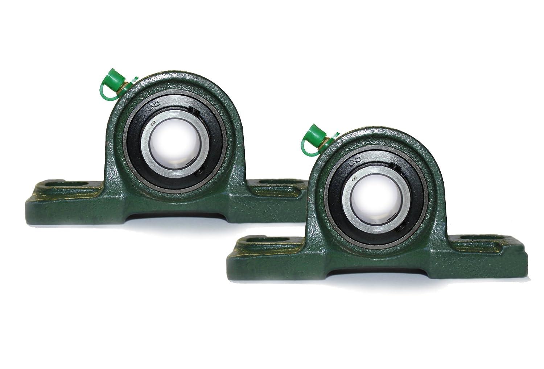 2 x UCP 206 stehlager con 30 mm Diá metro interior (UCP206 Almacenamiento caballete) –  2 orificios –  alt. para SY bti-sy-im 30tf/p56206/rasey30/(P206) CQ
