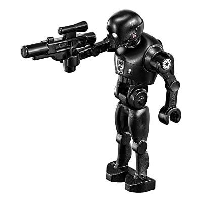 LEGO Star Wars Rogue One Minifigure - K-2SO Enforcer Droid Kay-Tuesso with Blaster Gun (75156): Toys & Games
