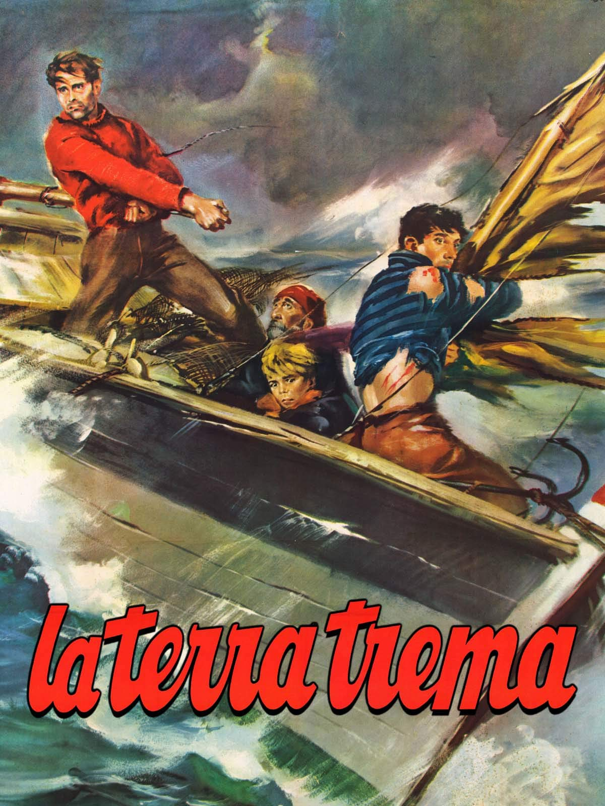 La Terra Trema on Amazon Prime Video UK