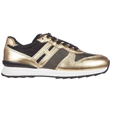 bbc85768167d44 HOGAN REBEL Baby Running - R261 Sneakers oro 1 US Child