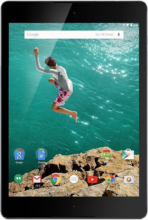 Google Nexus 9 - Tablet de 8.9 (Bluetooth 4.0 + WiFi, 32 GB, 2 GB RAM, Android 5.0 Lollipop), Negro