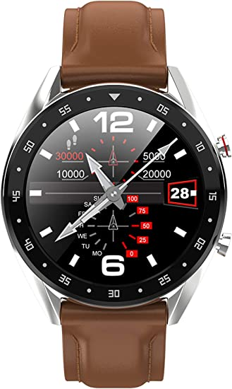 Amazon.com: Reloj inteligente con podómetro, monitor de ...