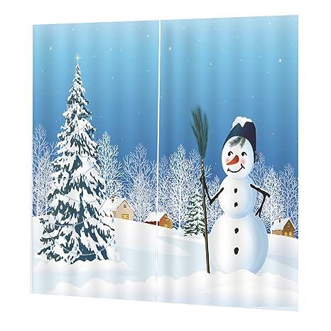 Decorazioni Natalizie The Sims 4.Magideal 2x Natale Temporizzato Tende Per Porte Finestre Tende Per