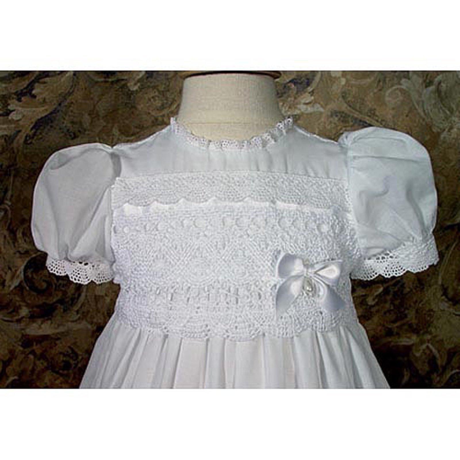 Katie Cotton Christening Gown