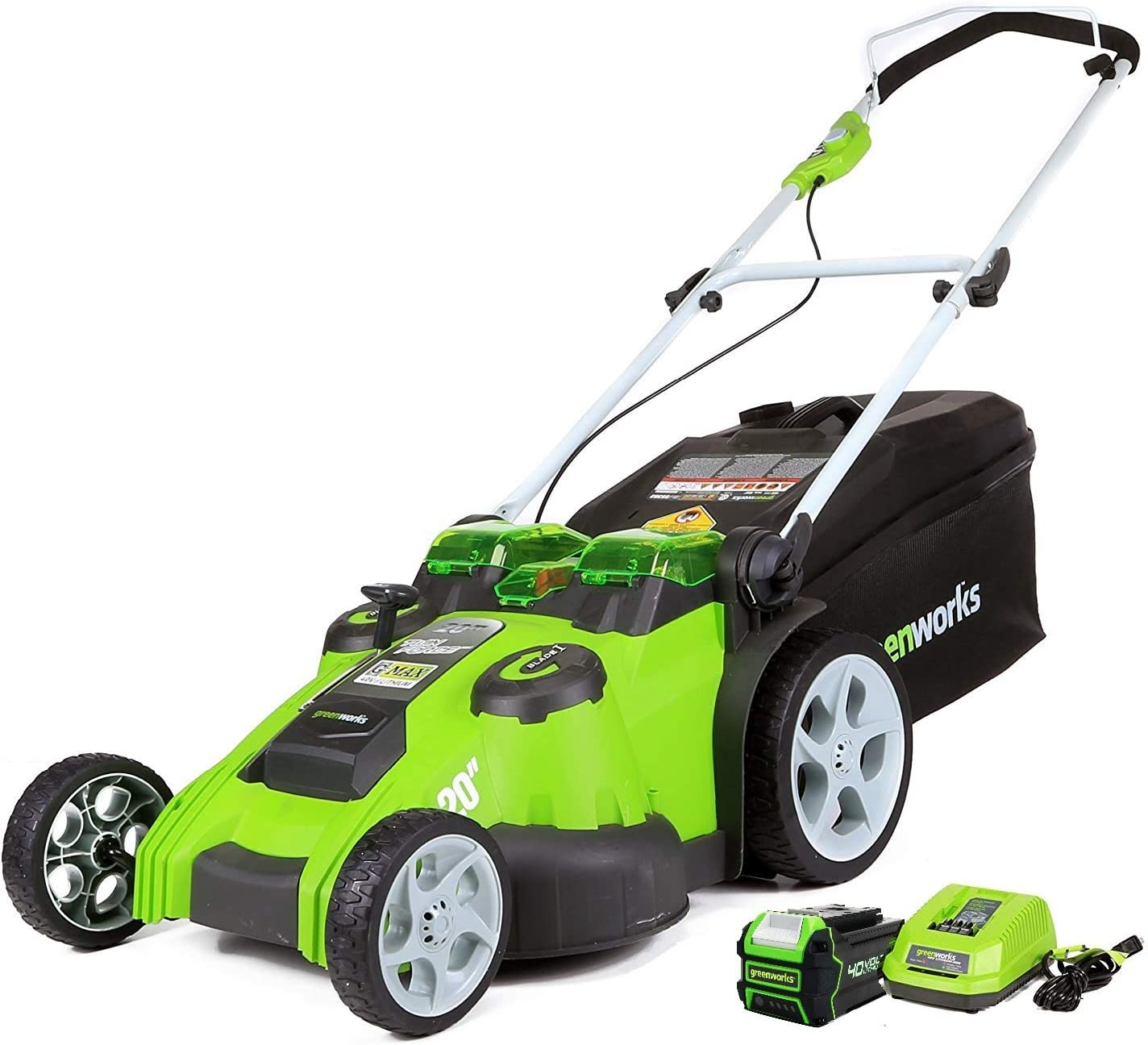 Greenworks 25302 Twin Force Cordless Lawn Mower