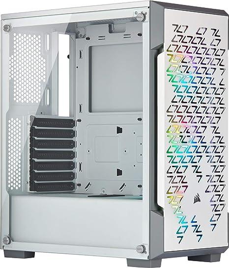Corsair iCUE 220T RGB Airflow, Semi-Torre ATX Gaming con Cristal ...