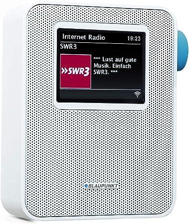 Blaupunkt Pib 100 Steckdosen Internetradio Wlan Empfang Großes Farb Display Steckdose Digital Radio Mit Bluetooth Wecker Kleines Steckdosenradio Dimmbar Senderspeicher Sleeptimer Weiß Heimkino Tv Video