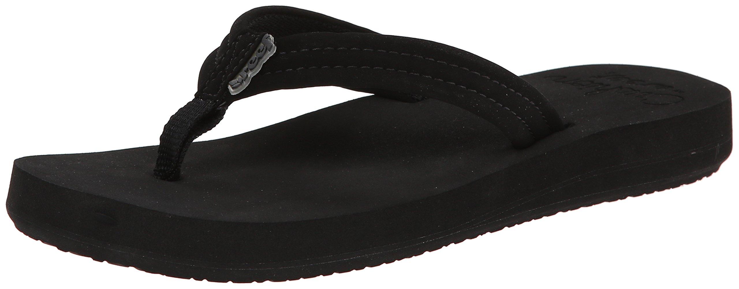 Reef Womens Cushion Breeze Flip-Flop Black Black 5 Bm -6521