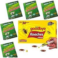 5 PCS Green Leaf Cockroach Killing Bait PLUS Dutch & Habro Suitable For Cockroaches - Lures   5 Packets Effective Powder…